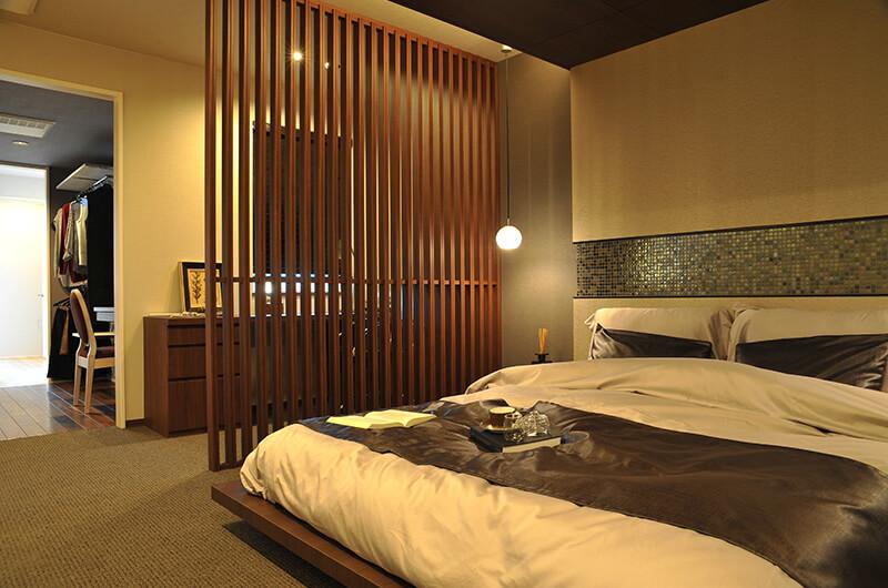快眠に誘う上質で快適な寝室スタディコーナー